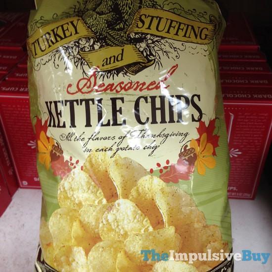 Trader Joe's Turkey and Stuffing Seasoned Kettle Chips