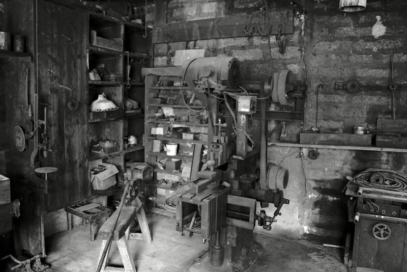 Moulin d'Argentenay - Atelier fer