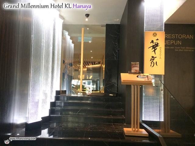 Grand Millennium KL Hanaya Jap Restaurant