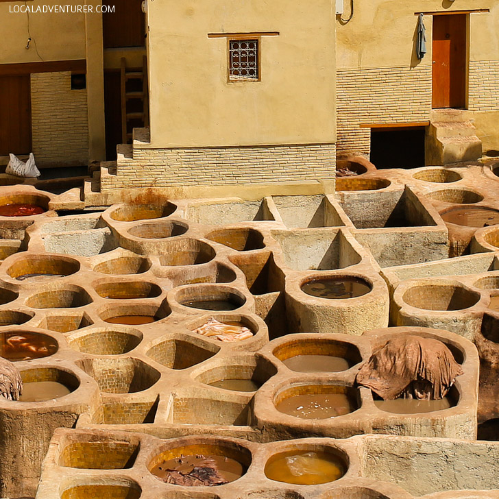 Chouara Tannery Fes (21 Amazing Places to Visit in Morocco).