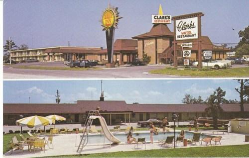 Clarks Motel Santee front