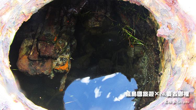 76塞班島坦克車潛水