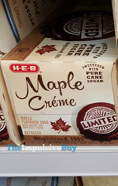 H-E-B Limited Edition Maple Creme Soda