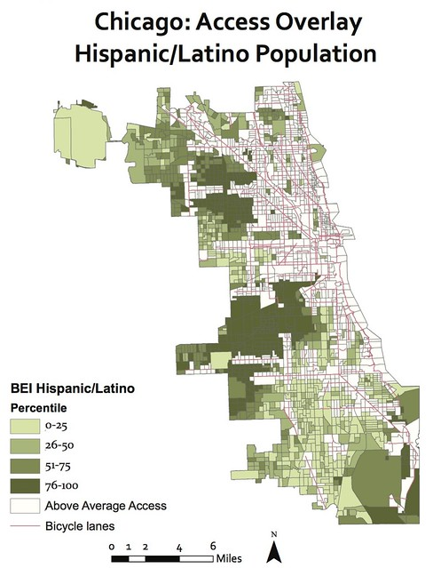 Chicagos Bike Plan Is Inequitable Says Report Based on Wrong Map