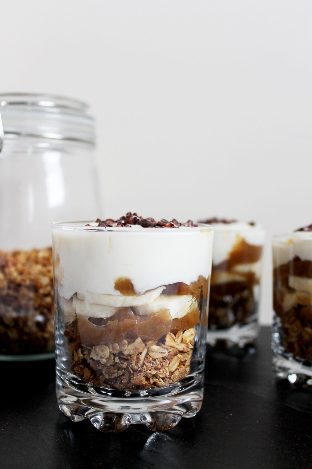 banoffee breakfast pots