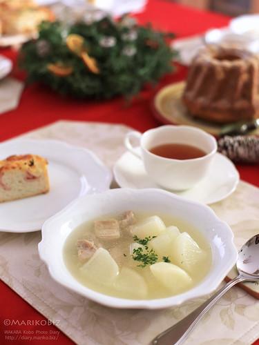 鶏と大根スープ 20151205-IMG_6011