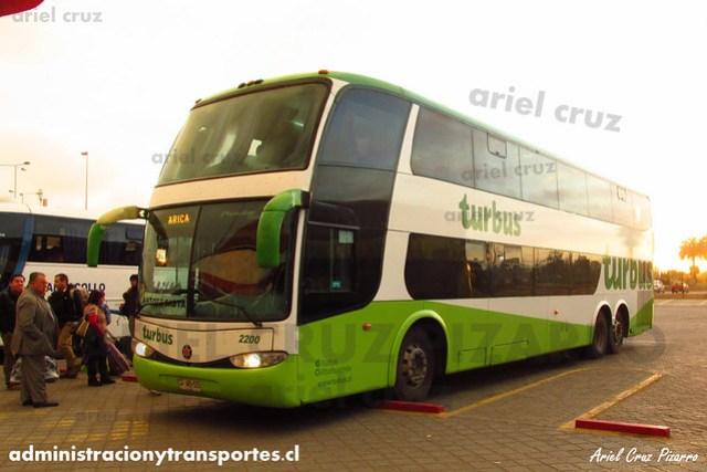 Tur Bus | La Serena | Marcopolo Paradiso 1800 DD - Mercedes Benz (CFWB55) (2200)