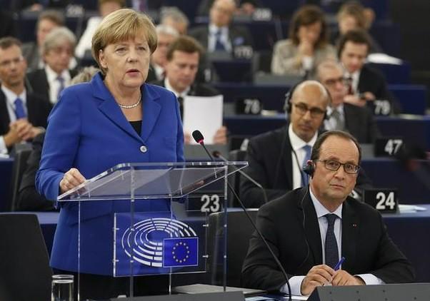 Merkel y Hollande piden más unidad frente a la crisis de los refugiados