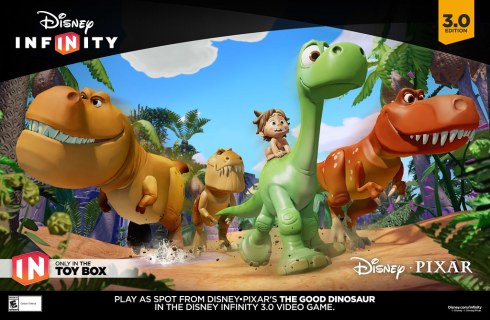Disney Infinity 3.0 Edition | GOOD DINO Poster
