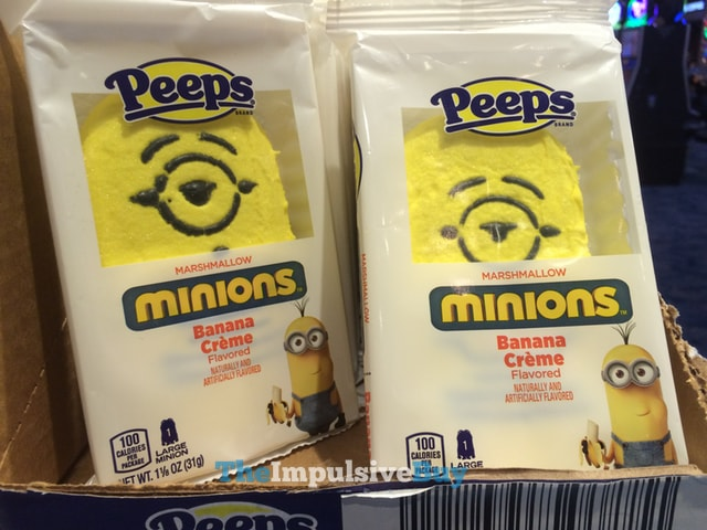 Peeps Large Minion Banana Creme