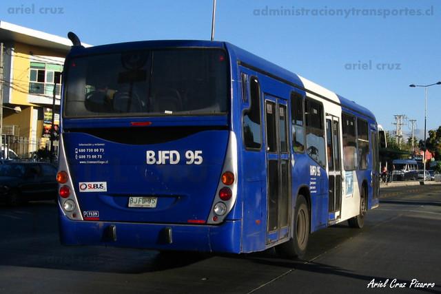Transantiago - Subus Chile - Marcopolo Gran Viale / Volvo (BJFD95)