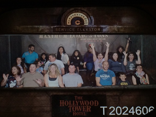 Us on Tower of Terror