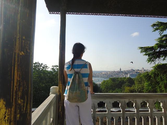 Vistas de Estambul desde el Palacio Topkapi