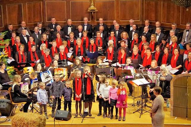 Concert de Noël des chorales du doyenné à Hochfelden et Wilwisheim