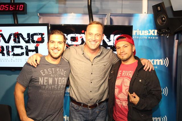 Matt Iseman returns to the Covino & Rich Show