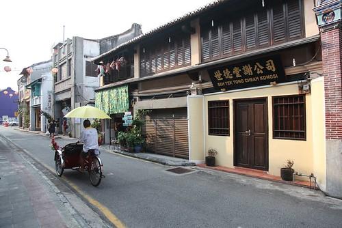 【2015大馬吉隆坡、檳城之旅】在檳城的第一條散步路線:往亞美尼亞街(打銅仔街)去(11 ys)
