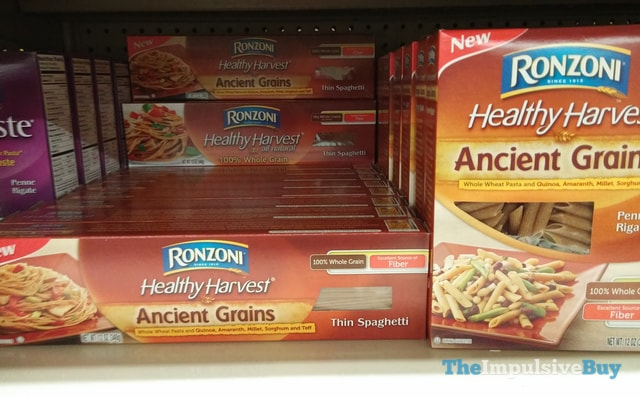 Ronzoni Healthy Harvest Ancient Grains Thin Spaghetti and Penne Rigate