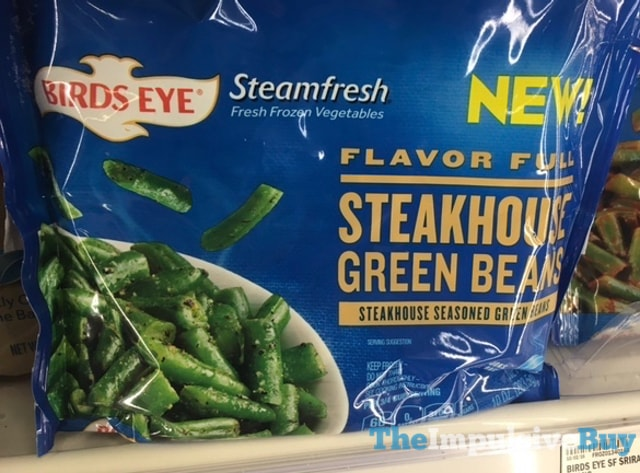 Birds Eye Steamfresh Flavor Full Steakhouse Green Beans