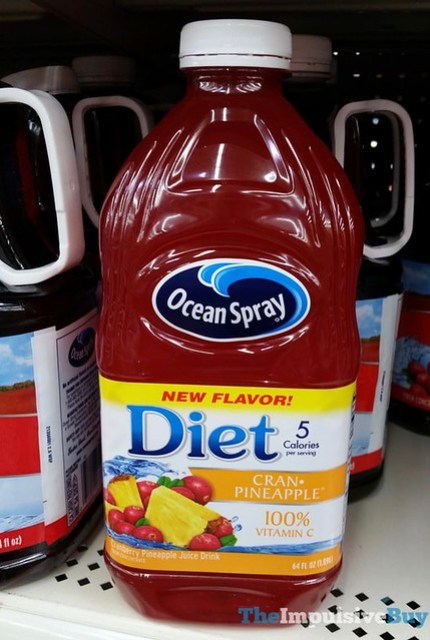 Ocean Spray Diet Cran-Pineapple