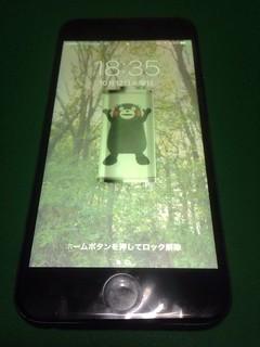 202_iPhone6のフロントパネル液晶割れ