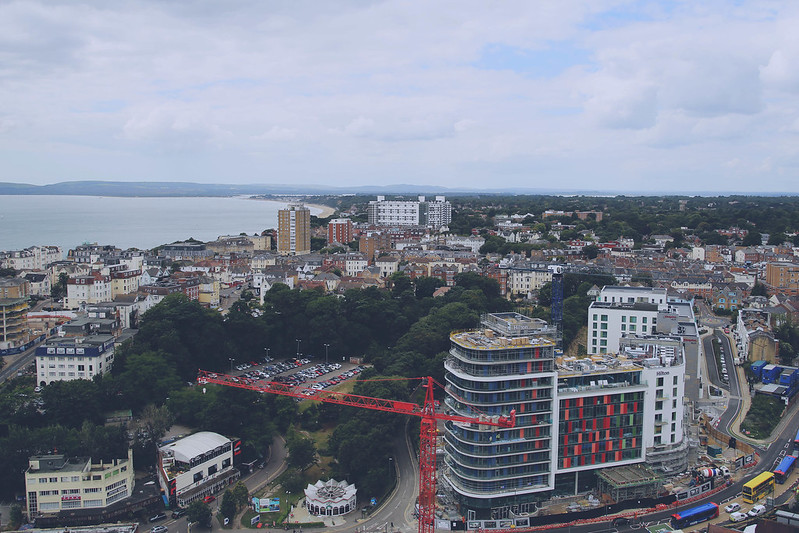view from bournemouth balloon 05