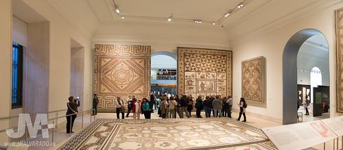 Sala de mosaicos romanos Museo Arqueológico Nacional (Madrid)