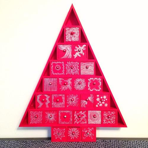 Our brand new Advent calendar.