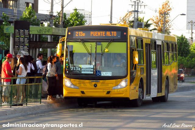 Transantiago - STP Santiago - Caio Mondego H (Biportal) / Mercedes Benz (FLXP72)