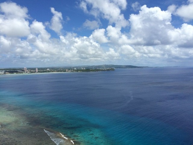 Picture from Two Lovers' Point, Guam