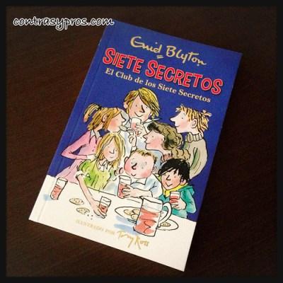 """Libro de misterio para niños, """"Siete Secretos. El Club de los Siete Secretos"""" de Enid Blyton"""