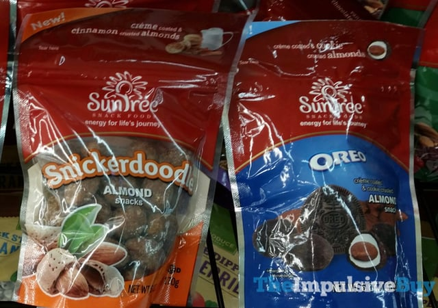 Sun Tree Almond Snacks (Snickerdoodle and Oreo)