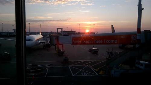 Amanecer en Schiphol, Here I come e Iberia Express