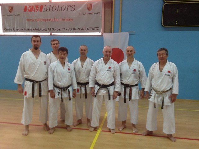 Gasshuku National France JKA Survilliers