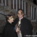 Viajefilos en el Carnaval de Venecia, cena de carnaval 04