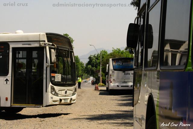 Transantiago - Metbus - Caio Mondego H / Mercedes Benz (BFKC12)
