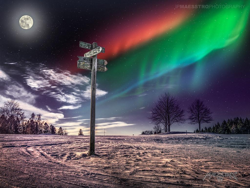 Kautokeino, Norway 001 - Aurora Borealis