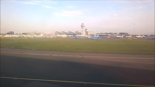 Despegando en el aeropuerto de Schiphol