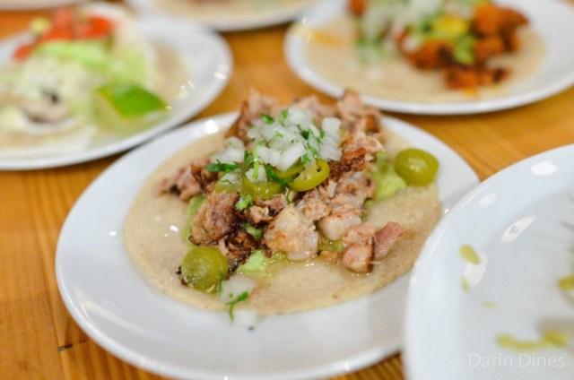 COOK'S RANCH PORK BELLY CARNITAS salsa verde, guacamole