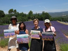 Painting Workshop Provence organized by www.frenchescapade.com