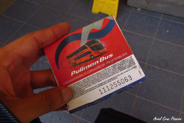 Pasaje Pullman Bus - RecorridoCL