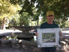 Frank Eber, art instructor in Provence with www.frenchescapade.com