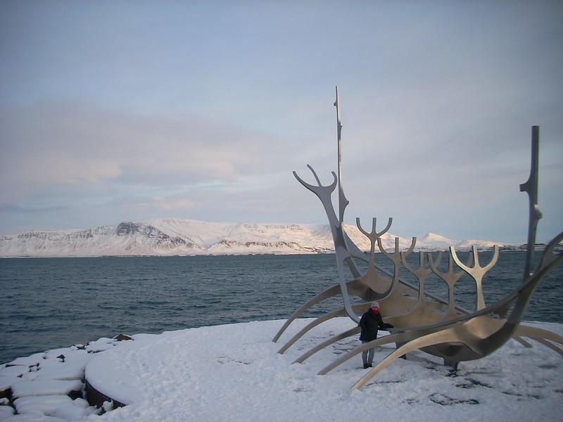 Bahía de Reykjavik, Islandia