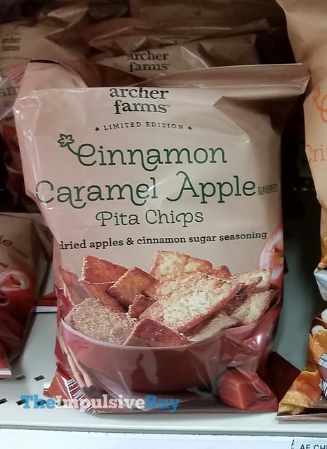 Archer Farms Limited Edition Cinnamon Caramel Apple Pita Chips