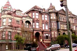 Victorian-houses-Painting Workshop in San Francisco organized by www.frenchescapade.com