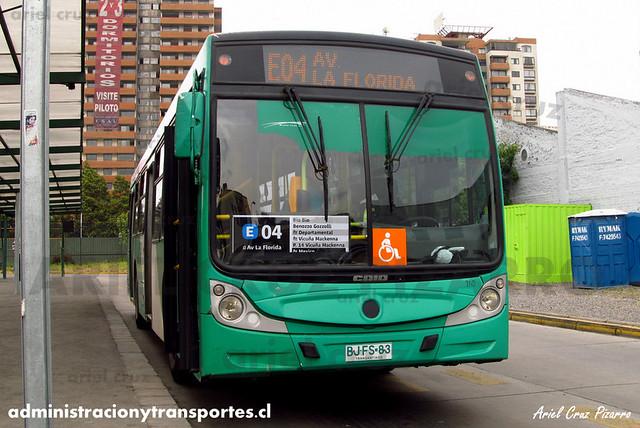 Transantiago - Buses Vule - Caio Mondego H / Mercedes Benz (BJFS83) (100)