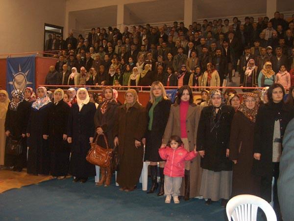2009.02.22 Ak Parti Tanıtım kapalı spor salonu