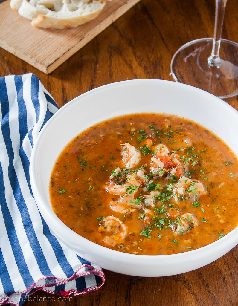 Easy seafood stew infinebalance for Recipe for seafood stew