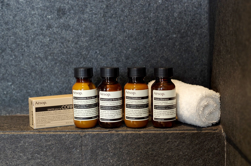 bathroom amenities - capella singapore