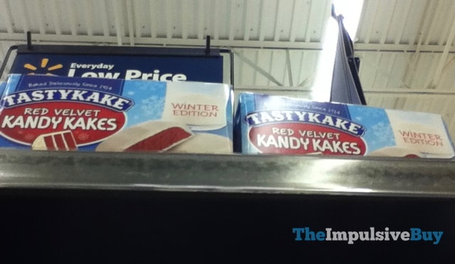 Tastykake Winter Edition Red Velvet Kandy Kakes