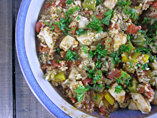 Cajun Chicken & Quinoa